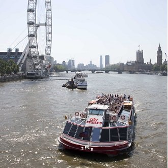 Win a Lunch Cruise for 4 with City Cruises
